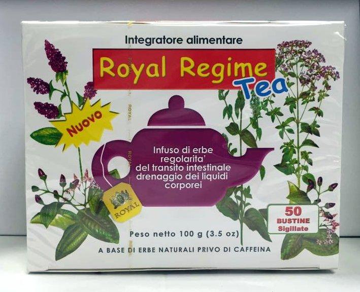 royal regime tea  ROYAL REGIME TEA integratore alimentare 50 bustine