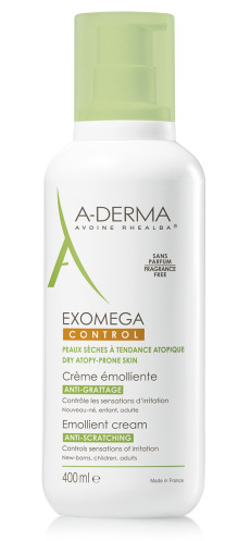 A-DERMA EXOMEGA CREMA EMOLLIENTE VISO CORPO 400 ml