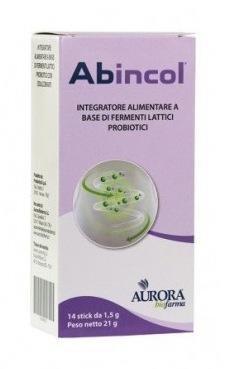 ABINCOL FERMENTI LATTICI 14 STICK OROSOLUBILI