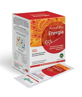 ABOCA NATURA MIX VIGORE integratore energetico  20 bust. da 2,5g