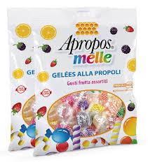 APROPOS MELLE - GELEE ALLA PROPOLI - GUSTI FRUTTA ASSORTITI - 80 G