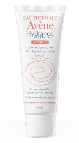 AVENE HYDRANCE OPTIMALE UV RICCA SPF20 40 ml