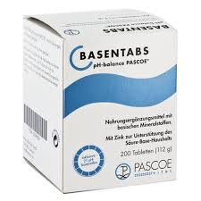 BASENTABS pH BALANCE - INTEGRATORE DI SALI MINERALI - 200 COMPRESSE