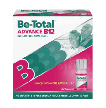 BE TOTAL ADVANCED B12 15 flaconcini