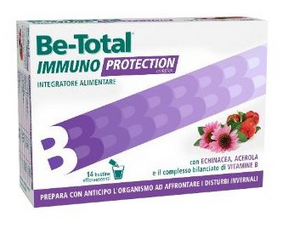 BE TOTAL IMMUNO PROTECTION INTEGRATORE ALIMENTARE 14 BUSTINE
