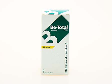 BE-TOTAL SCIROPPO LIMONE - 100 ML