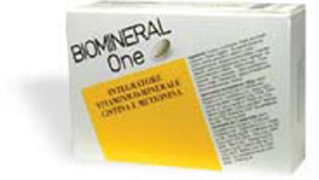 BIOMINERAL ONE LACTOCAPIL - INTEGRATORE - 30 COMPRESSE