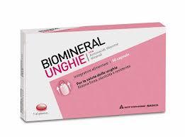 BIOMINERAL UNGHIE - INTEGRATORE ALIMENTARE - 30 CAPSULE