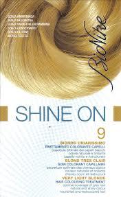 BIONIKE SHINE ON TRATTAMENTO COLORANTE PER CAPELLI - BIONDO CHIARISSIMO 9