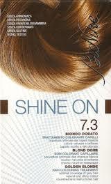 BIONIKE SHINE ON TRATTAMENTO COLORANTE PER CAPELLI - BIONDO DORATO 7.3