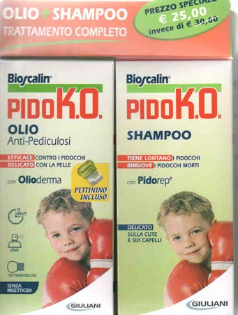 BIOSCALIN PIDOKO OLIO+SHAMPOO anti pidocchi trattamento
