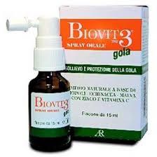 BIOVIT 3 GOLA SPRAY - 15 ML