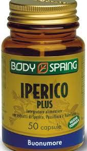 BODY SPRING IPERICO PLUS - 50 CAPSULE