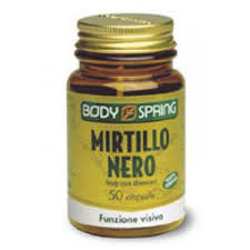 BODY SPRING MIRTILLO NERO - 50 CAPSULE