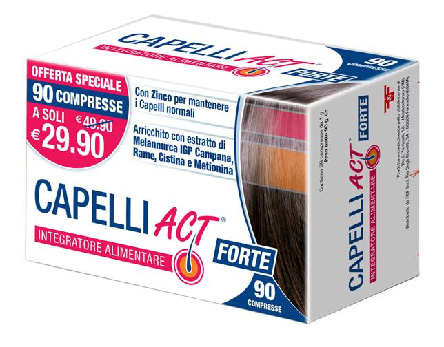 CAPELLI ACT FORTE 90 COMPRESSE
