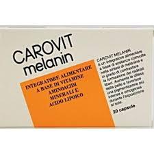 CAROVIT MELANIN - INTEGRATORE ALIMENTARE - 20 CAPSULE