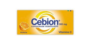 CEBION 500 20 COMPRESSE MASTICABILI GUSTO ARANCIA