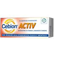 CEBION ACTIV INTEGRATORE ALIMENTARE - 12 COMPRESSE EFFERVESCENTI