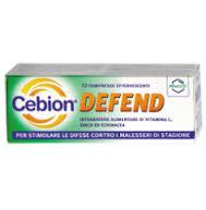 CEBION DEFEND INTEGRATORE ALIMENTARE - 12 COMPRESSE EFFERVESCENTI