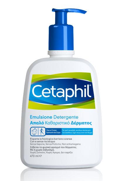 CETAPHIL EMULSIONE DETERGENTE (Detergente Fluido) 470 ml.