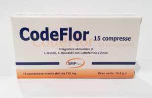 CODEFLOR - INTEGRATORE ALIMENTARE - 15 COMPRESSE MASTICABILI