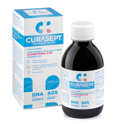 CURASEPT COLLUTORIO 200 ml Trattamento placca e carie ads 005