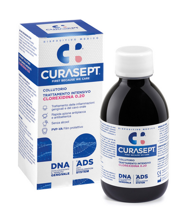CURASEPT COLLUTORIO ADS TRATTAMENTO INTENSIVO 0,20 200ml