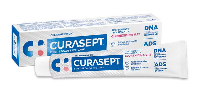 CURASEPT GEL DENTIFRICIO 0.12 TRATTAMENTO PROLUNGATO