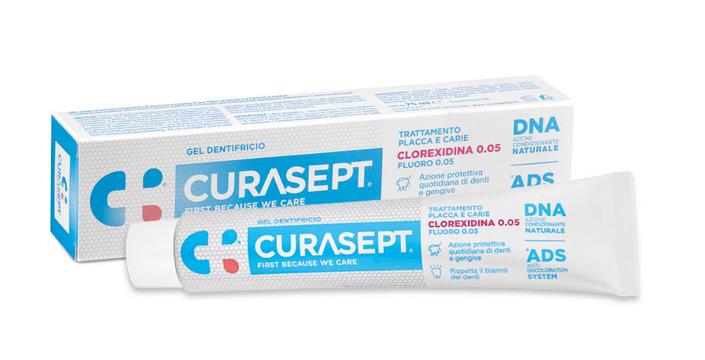CURASEPT GEL Dentifricio 75 ml 0.005 Trattamento protettivo