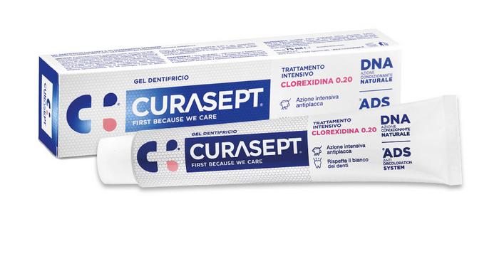 CURASEPT GEL Dentifricio 75 ml 0.20 trattamento intensivo