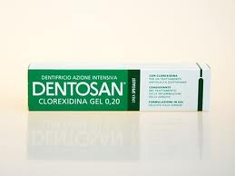 DENTOSAN CLOREXIDINA GEL 0,2 - DENTIFRICIO AZIONE INTENSIVA - 75 ML