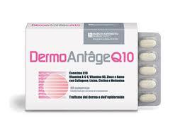 DERMOANTAGE Q10 - INTEGRATORE ALIMENTARE - 60 COMPRESSE DA 0,85 G