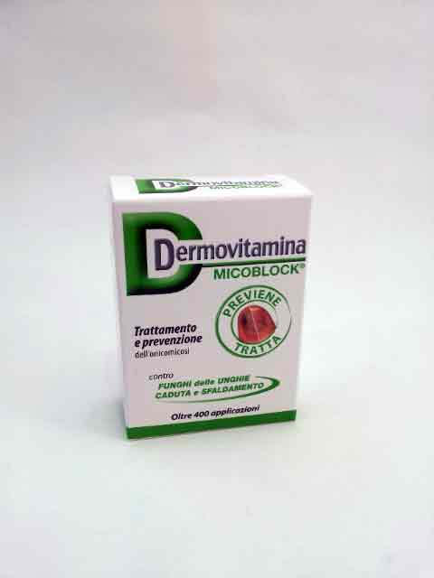 DERMOVITAMINA MICOBLOC - TRATTAMENTO ONICOMICOSI - 7 ML
