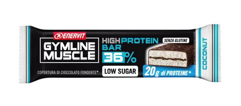 ENERVIT GYMLINE HIGH PROTEIN 36% LOW SUGAR COCONUT