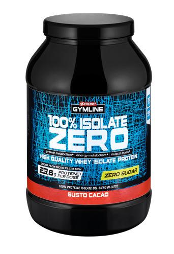 ENERVIT GYMLINE WHEY 100% ISOLATE ZERO SUGAR 900g CACAO
