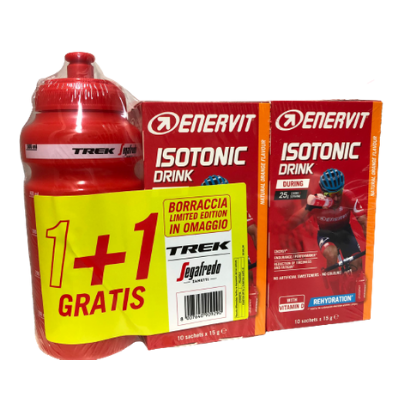 ENERVIT SPORT ISOTONIC DRINK GUSTO ARANCIA 10 BUSTE E 10 OMAGGIO