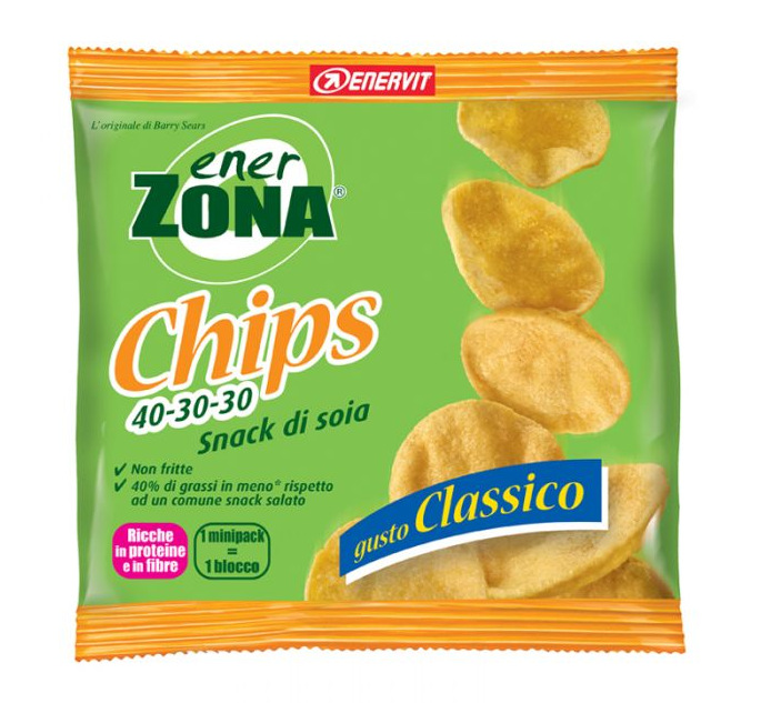 ENERZONA CHIPS CLASSICO 5 BUSTE
