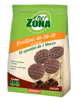 ENERZONA FROLLINI 40 30 30 CACAO  250 gr