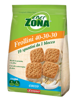 ENERZONA FROLLINI 40 30 30 COCCO 250 gr