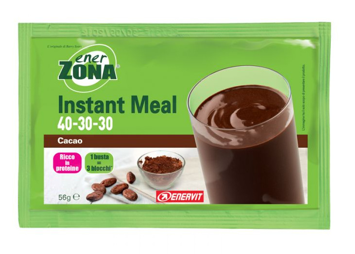 ENERZONA INSTANT MEAL 40-30-30 CACAO