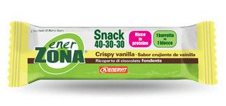 ENERZONA SNACK 40-30-30 barrette crispy vanilla 1 pz