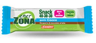 ENERZONA SNACK 40-30-30 barrette gusto cocco 1 pz