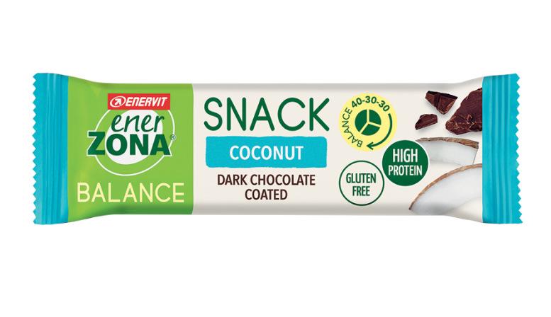 ENERZONA SNACK 40-30-30 barrette gusto COCONUT 33gr