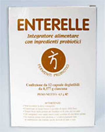 ENTERELLE BROMATECH integratore12 CAPSULE