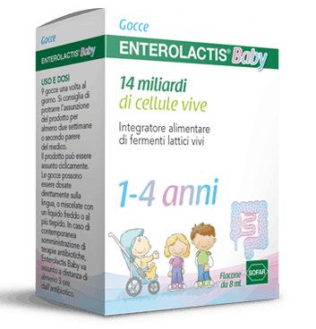 ENTEROLACTIS GOCCE 10ML