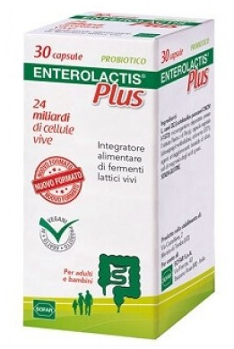 ENTEROLACTIS PLUS 30 CAPSULE