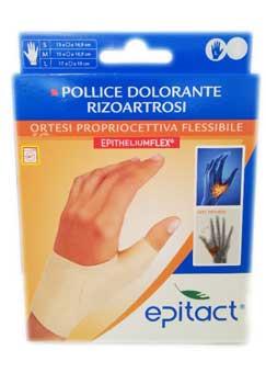 EPITACT ORTESI PROPRIOCETTIVA FLESSIBILE - POLLICE DOLORANTE RIZOARTROSI - MANO SINISTRA TAGLIA M