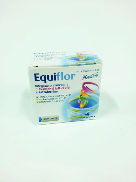 EQUIFLOR INTEGRATORE ALIMENTARE - 6 FLACONCINI DA 8 ML