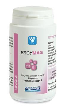 ERGYMAG INTEGRATORE ALIMENTARE MAGNESIO VITAMINE B2 B3 B5 B6