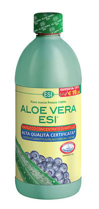ESI ALOE VERA SUCCO con MIRTILLO 1000ml